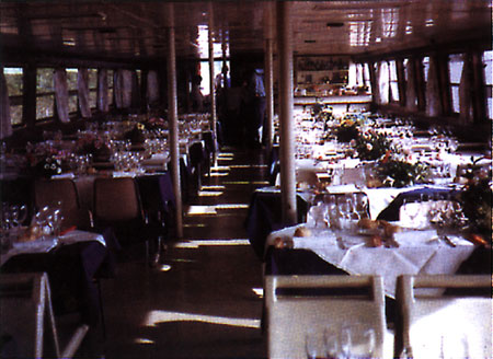 Events and parties aboard the river ships.