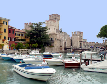 Old port of Sirmione