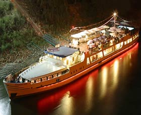 Business events abord river ships